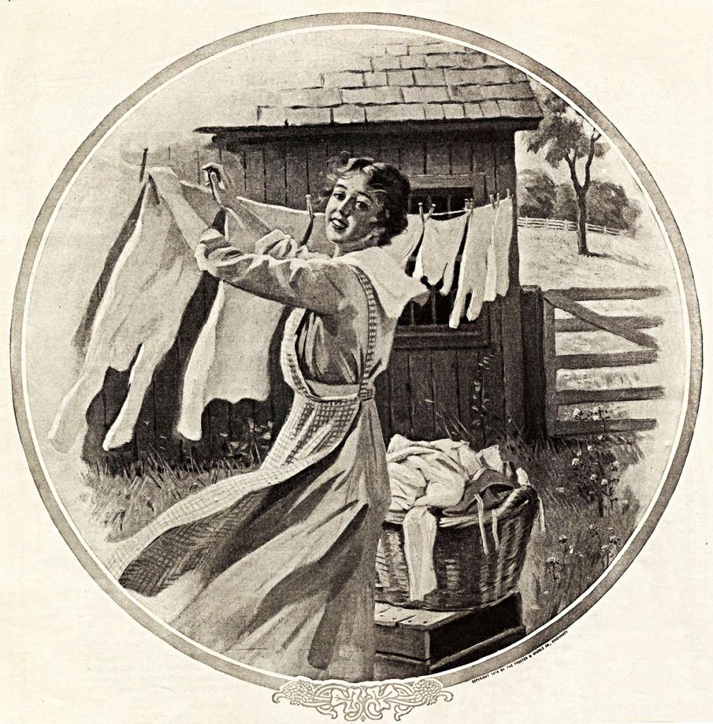 pesu kuivama riputamine
