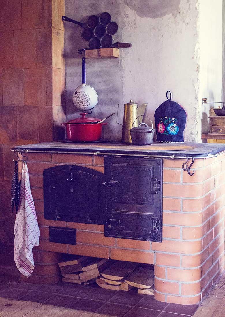 vana puupliit / retro perenaine